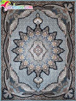 فرش 1200 شانه تراکم 3600 کاشان - فروش اینترنتی فرش ماشینی کاشان