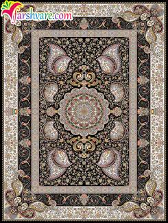 فرش ماشینی جدید طرح وصال، فرش جدید ماشینی 1050 شانه با تراکم 3000
