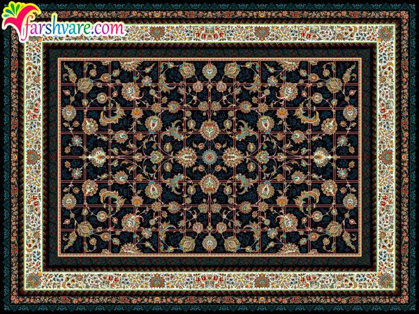 طرح های جدید فرش ماشینی کاشان