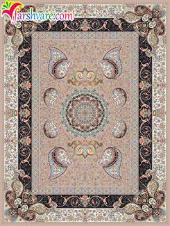 فرش ماشینی موشی - خرید اینترنتی فرش کاشان با رنگ زمینهی موشی
