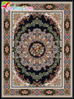 black carpet of Iran , Persian carpet of Ilia design , Iranian carpets