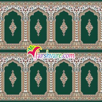 فرش سجاده ای مسجد طرح رضوان