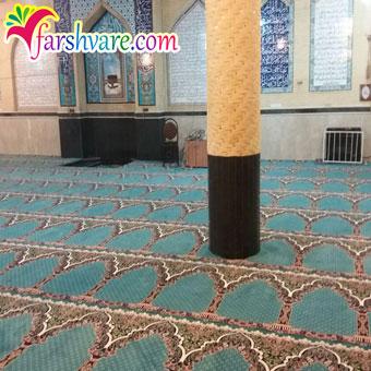 نمونه سجاده فرش آبی