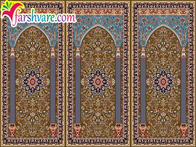 فرش نمازخانه ای محرابی ستاره کویر کاشان