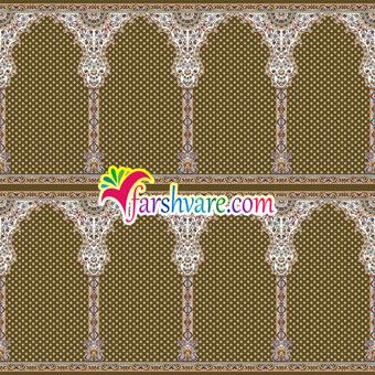 فروش اینترنتی فرش محرابی نمازخانه ای مستقیم از کارخانه ؛ فرش سجاده طرح شمیم