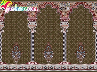 فرش نمازخانه ای محرابی