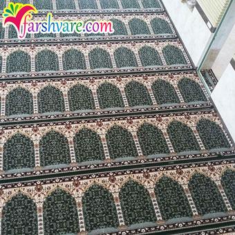 نمونهی بافته شدهی سجاده فرش جهت فروش فرش سجاده ای