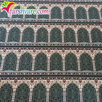 نمونهی بافته شدهی فرش مسجد جهت فروش فرش سجاده