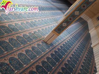 خرید سجاده فرش مسجدی از کارخانه فرش سجاده ای کاشان