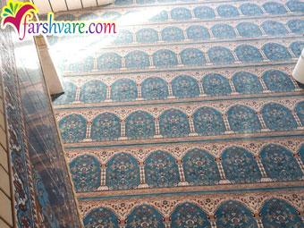خرید سجاده فرش مسجد از کارخانه فرش سجاده ای کاشان