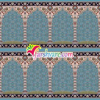 فروش سجاده فرش محرابی مسجد مستقیما از کارخانه