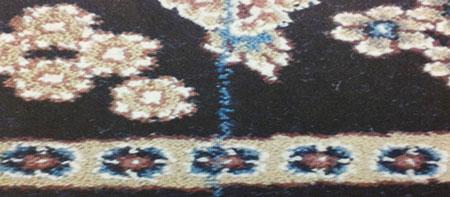 نخ جفتی یا نخ اضافی در فرش سجاده ای