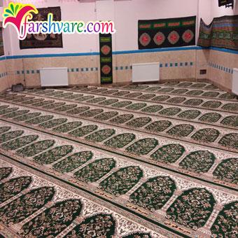 نمونه سجاده بافته شده جهت خرید فرش سجاده ای مسجد