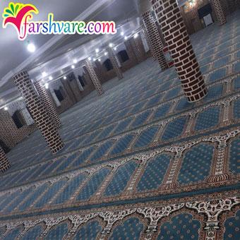 نمونه سجاده فرش جهت خرید فرش برای نمازخانه مستقیم از کارخانه