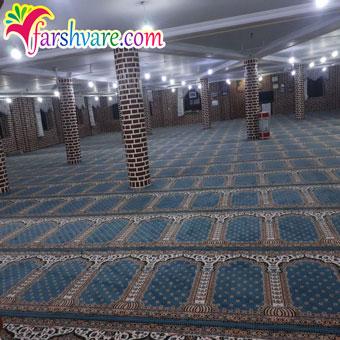 نمونه فرش سجاده ای جهت خرید فرش برای نمازخانه مستقیم از کارخانه