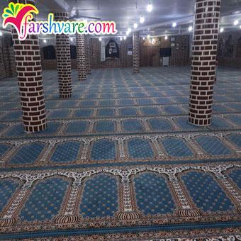 نمونه فرش مسجد جهت خرید فرش برای نمازخانه مستقیم از کارخانه