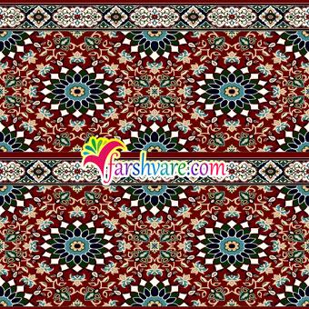 سجاده فرش مسجدی تشریفاتی قرمز رنگ