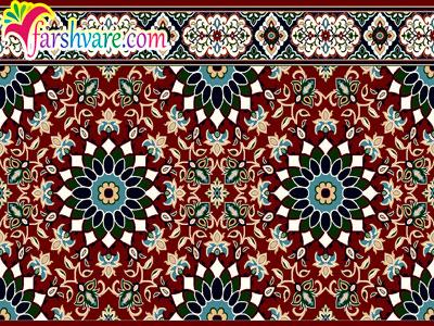 سجاده فرش مسجدی تشریفاتی