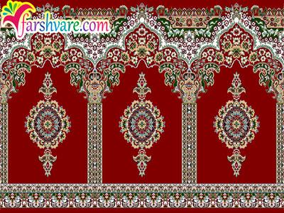 فرش مسجدی زیبا