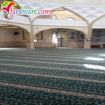 فرش سجاده بدون محراب برای مسجد و نمازخانه